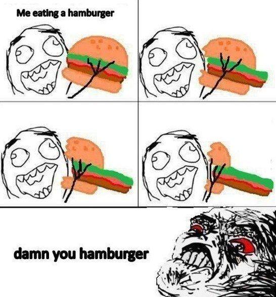 Very Funny Meme Comics : Really funny meme jokes damn you burger