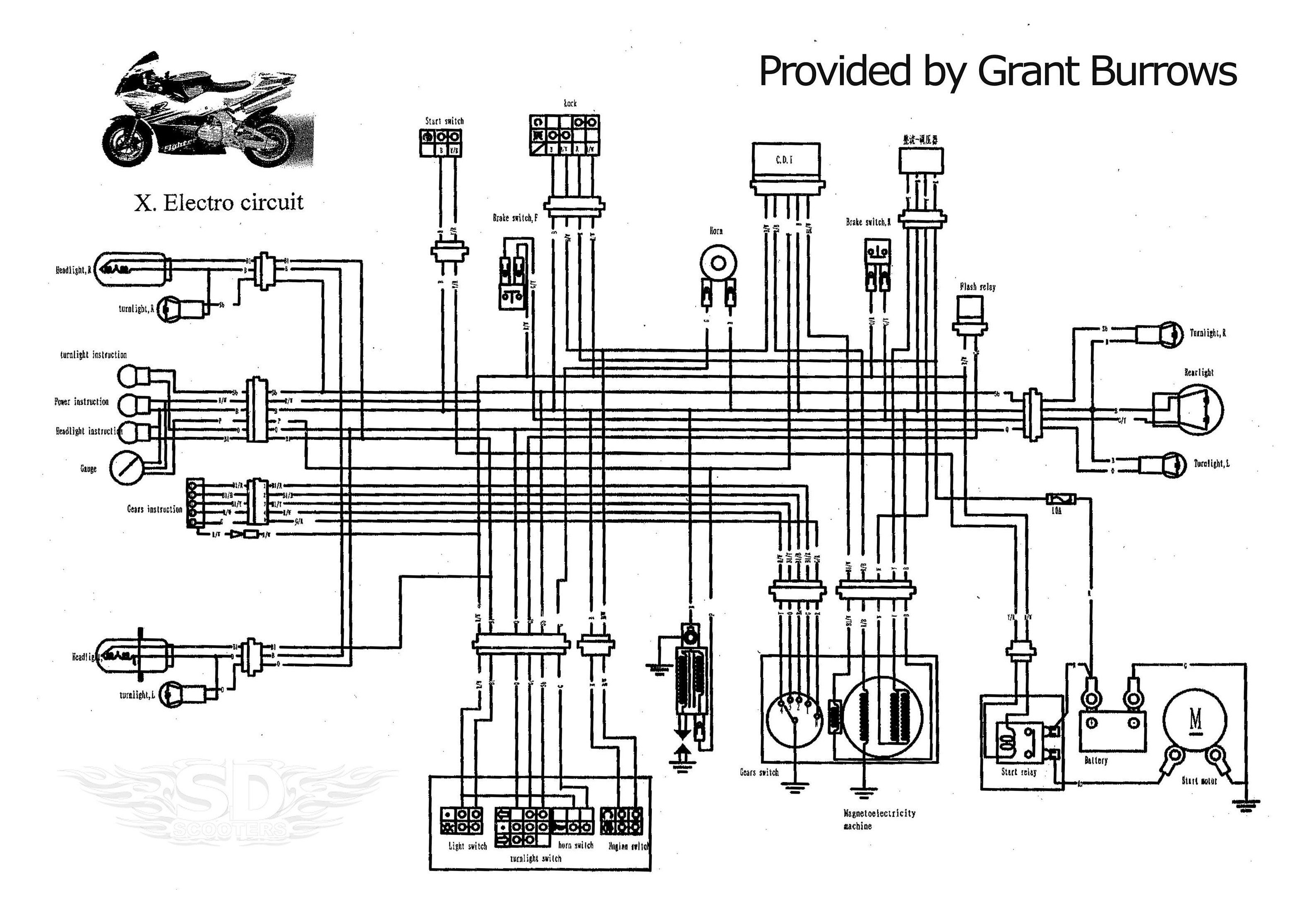 49cc Pocket Bike Engine Diagram #x1 #pocket #bike #x1pocketbike | Pocket  bike, Bike engine, Diagram | X1 Pocket Bike Wiring Harness |  | Pinterest