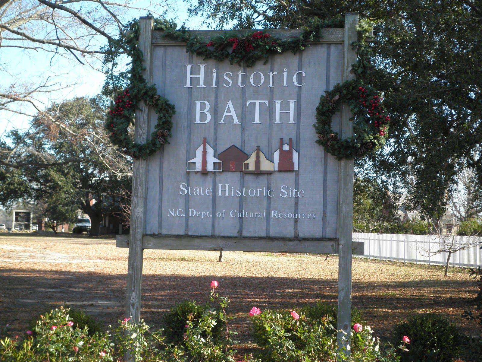 Old bath nc i must go here blackbeard lived here
