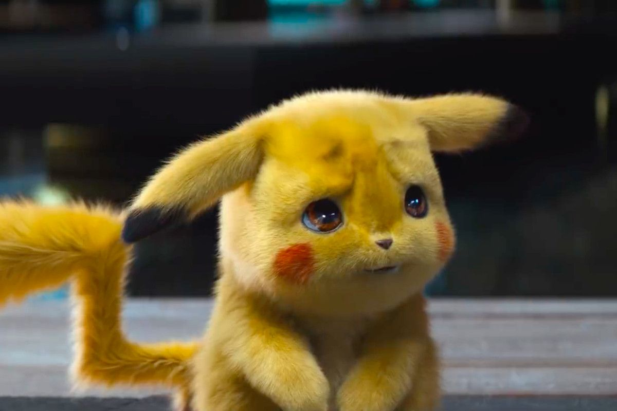 Pokémon Detective Pikachu 2019 Photo Cute Pikachu