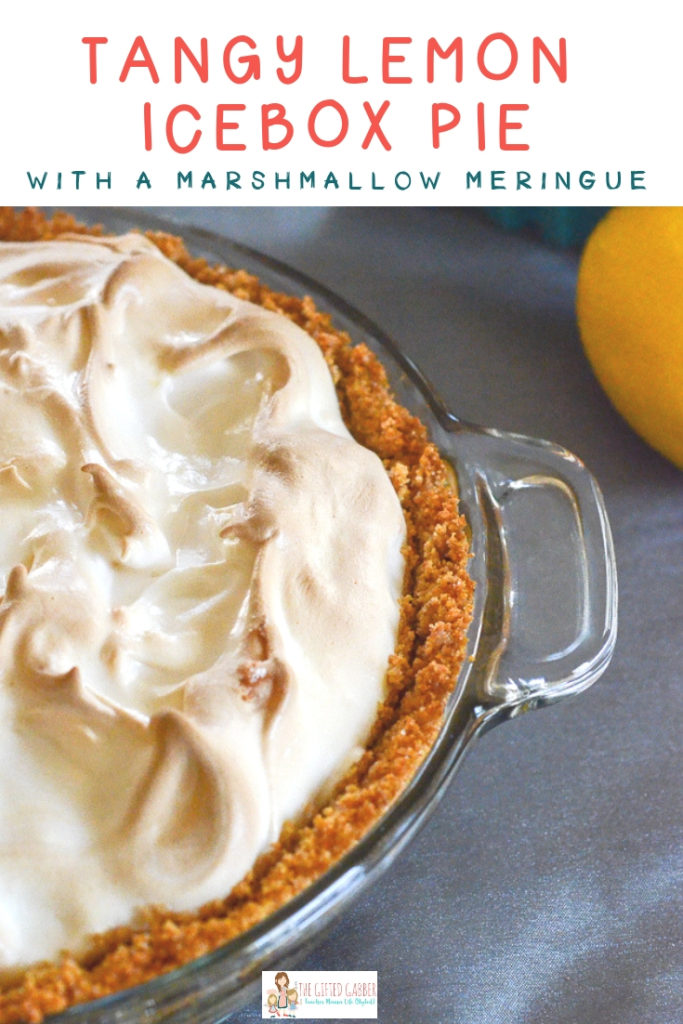 This easy lemon icebox pie with marshmallow meringue is just the best lemon pie in a homemade graham cracker crust The sweet meringue is a perfect contrast to the tangy a...