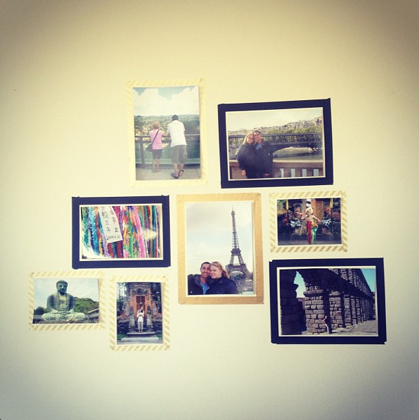 Omiyage Blogs: Back to Basics - Washi Tape Photo Wall | Salón ...