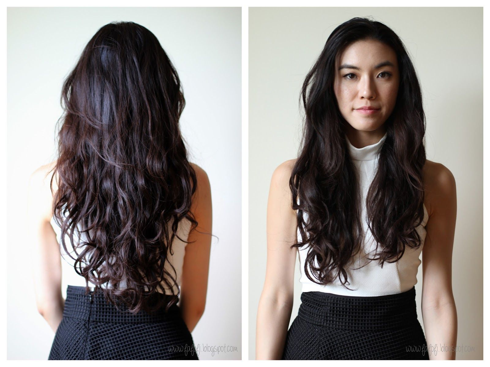 Straight perm for thick hair - Digital Perm Thick Asian Hair Google Search