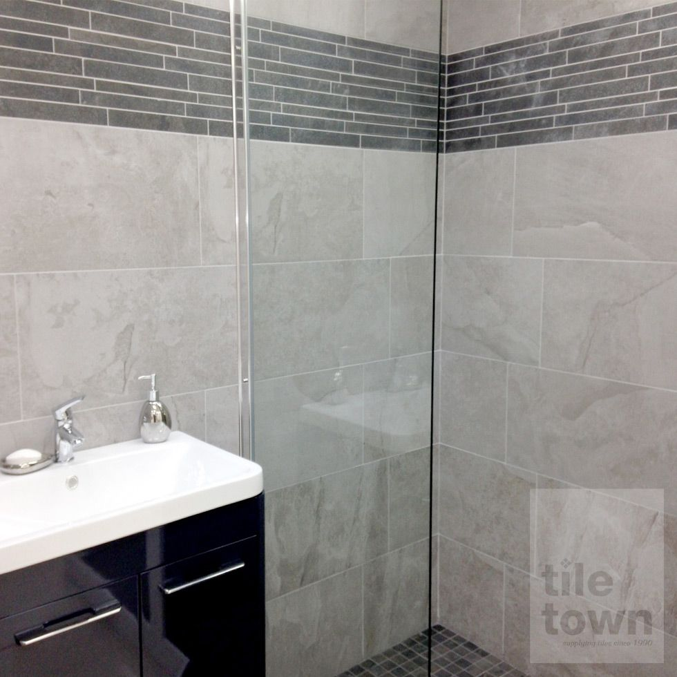 Edale Grey Bathroom Wall Tiles Supplied By Tile Town Discounted