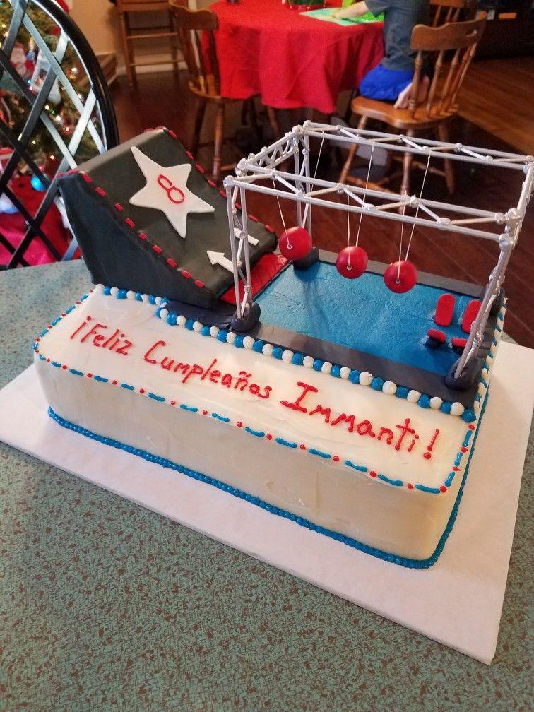 American Ninja Warrior Cake American Ninja Warrior Party Cake