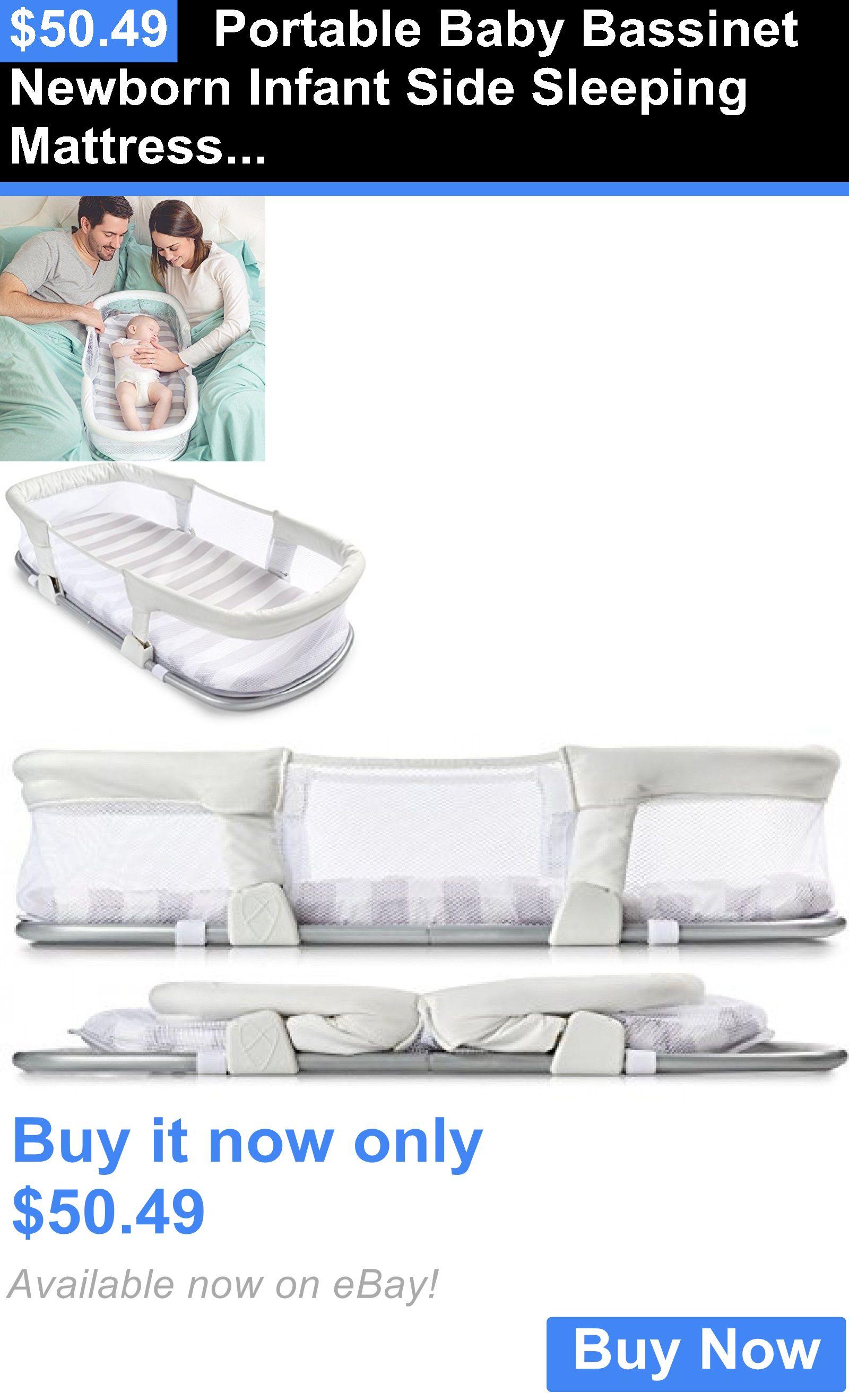Baby Nursery Portable Baby Bassinet Newborn Infant Side Sleeping