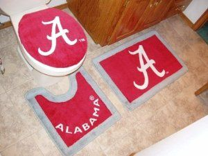 Alabama 3 Piece Bath Rug Set By Belleview 32 25 Great Gift Idea