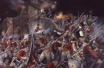 Storming of Badajoz by the 88th Regiment of Foot by Chris Collingwood.