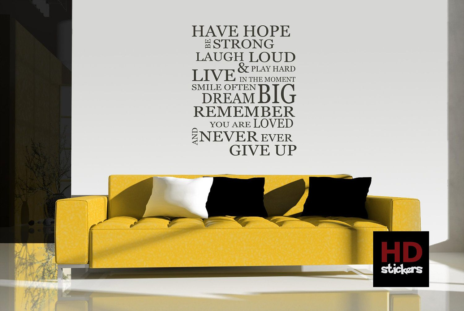 Have Hope  Vinyl Wall Sticker Quote