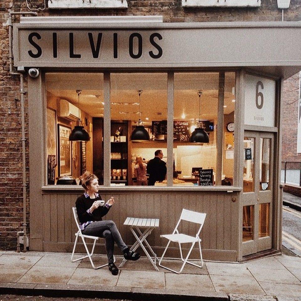 Small coffee shop interior design