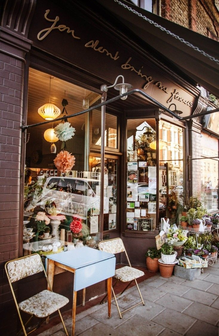 Coffee Shop With Garden Near Me The New It Girls 7 Must Shop Florists In London Sweet Coffee