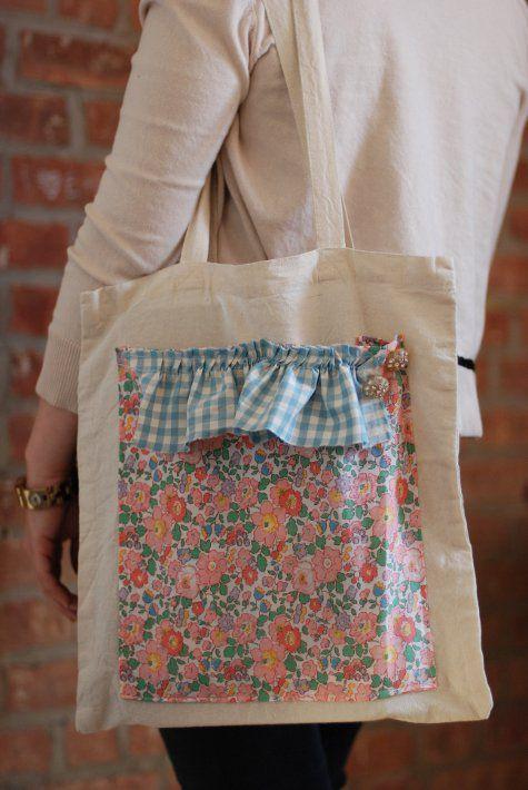 806474d27 Como hacer bolsas ecologicas para compras | Kreatív ötletek | Bolsas ...