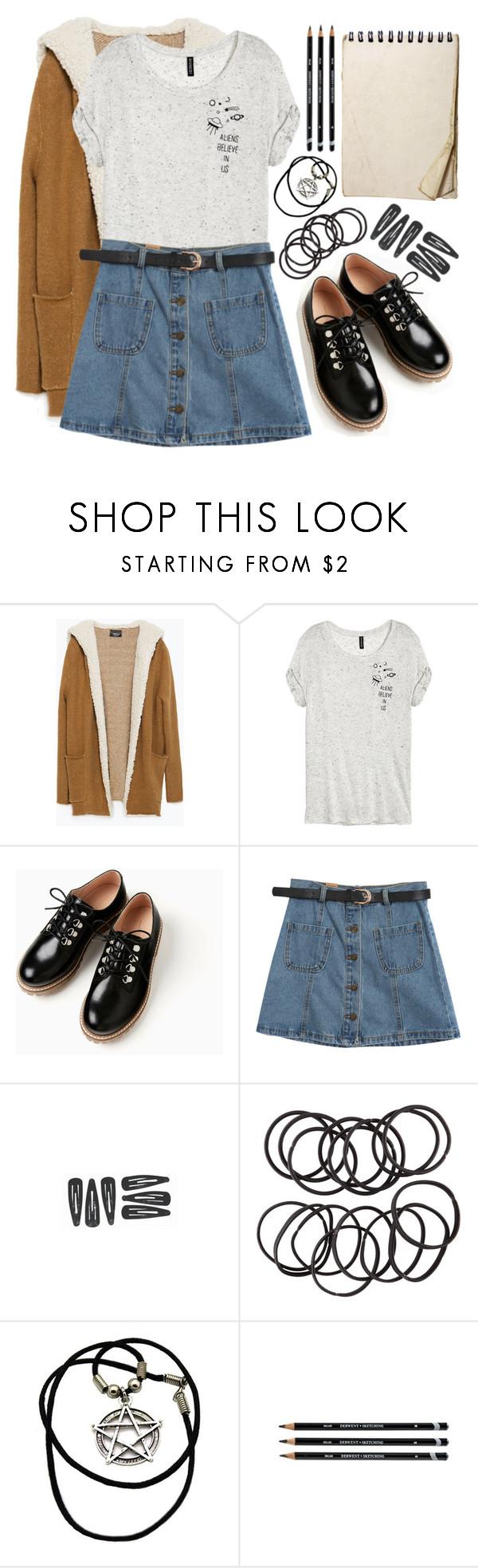 """""""tragen narben, die beweisen, das sich kämpfen manchmal lohnt"""" by hunter995 ❤ liked on Polyvore featuring Zara, Chicnova Fashion and H&M"""