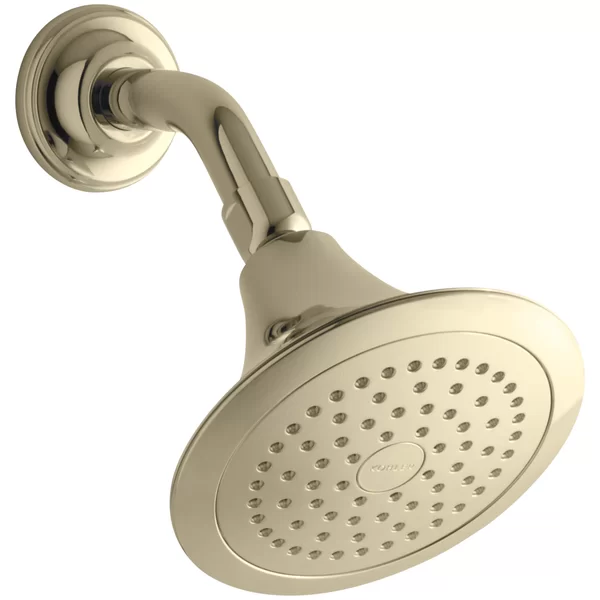Forté 2.5 GPM SingleFunction WallMount Shower Head with