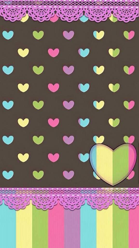 Wallpaper Backgrounds Cute WallpapersCell Phone WallpapersIphone BackgroundsWallpaper BackgroundsHeart WallpaperHello Kitty