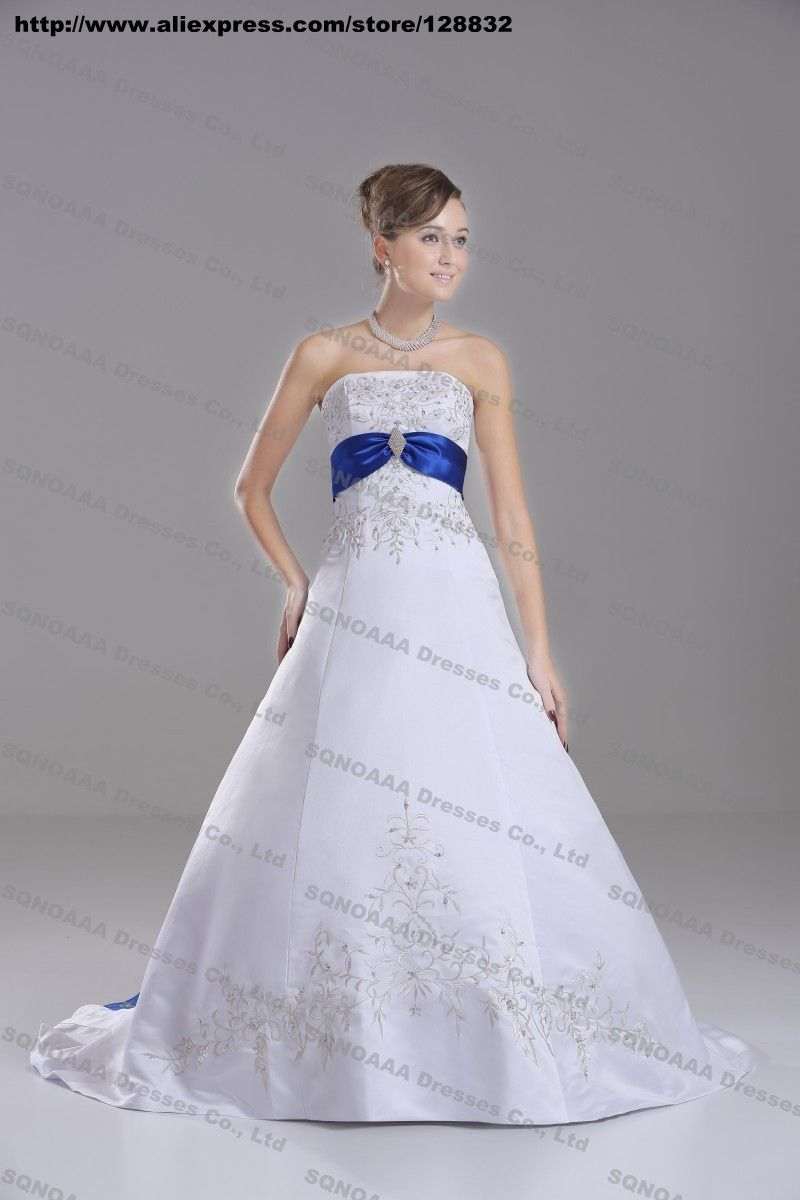 20 Royal Blue And Silver Wedding Dresses For Plus Size Check More