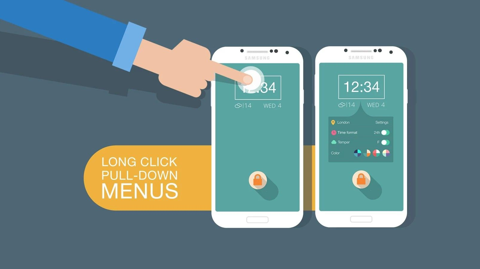Flatty Lockscreen v1 0 apk Requirements: 3 0+ Overview