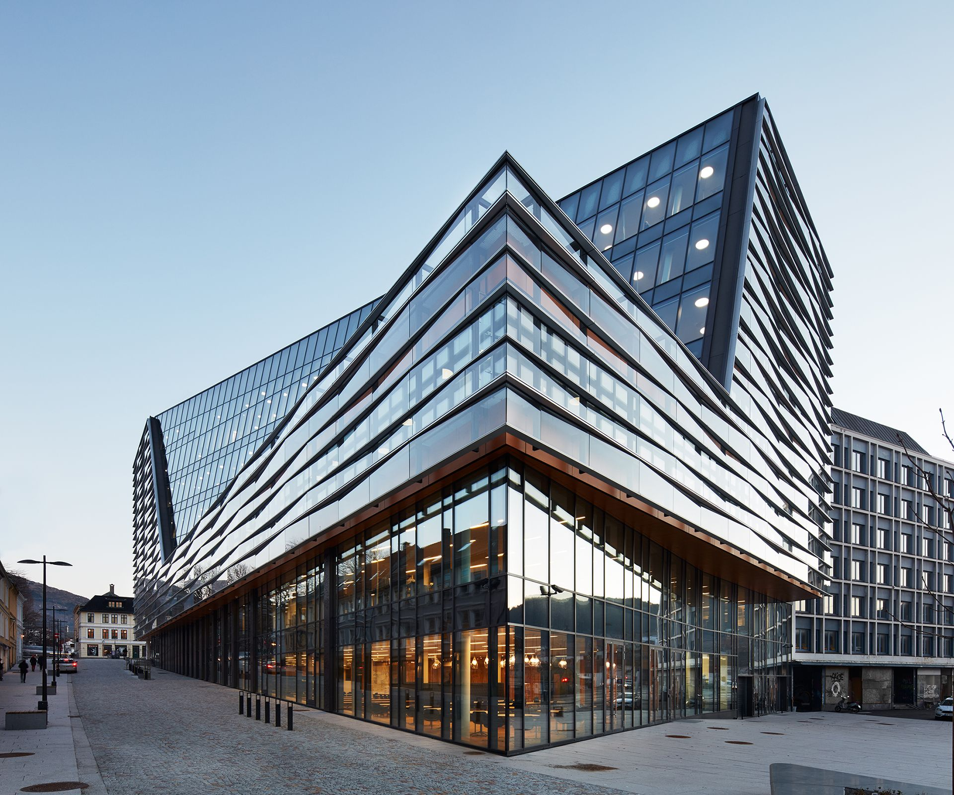 Jonsvollkvartalet Bergen Norway Office Building Architecture