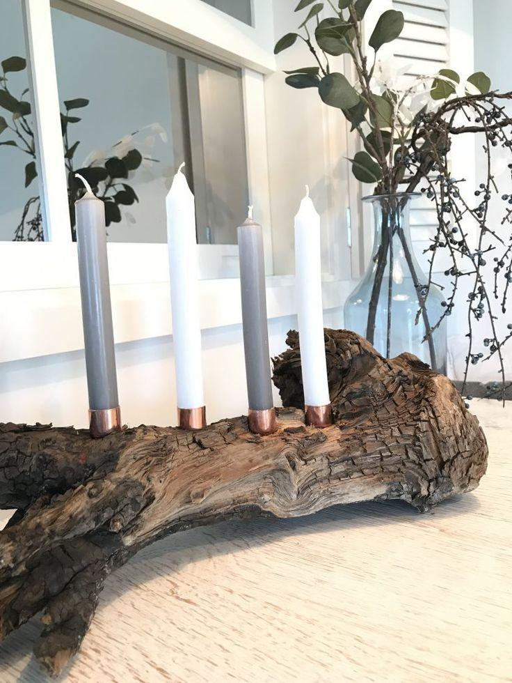 DIY: Vier 10-Minuten-DIYs für den Winter #adventskranzholz