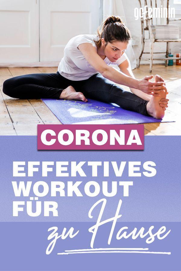Coronavirus: Effektiv zu Hause trainieren