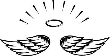 simple angel wings template angel wing transparent clip art rh pinterest ca clipart angel wings images clip art angel wings images