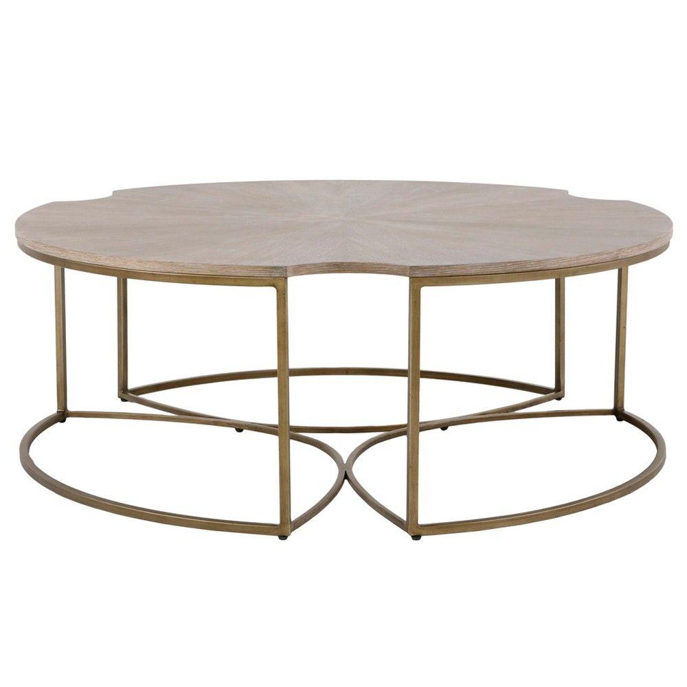 Gabby Zelda Coffee Table Bronze Coffee Table Coffee Table Wood Oak Coffee Table [ 1000 x 1000 Pixel ]