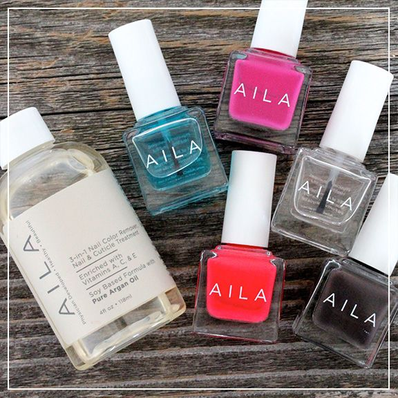 How gorgeous are these #5free polishes by AILA? Coming soon in the Petit Vour beauty box! | petitvour.com