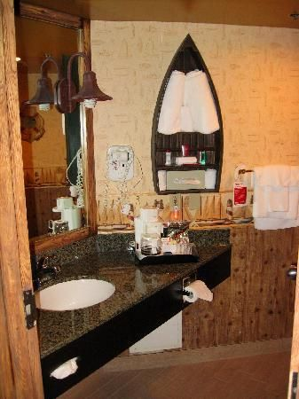 boat shelf storage in bathroom household nautical bathrooms home goods wall decor bathroom. Black Bedroom Furniture Sets. Home Design Ideas