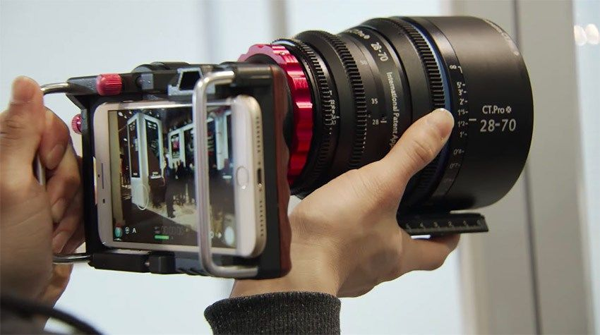Mount any cine lens on your smartphone with this fancy dof
