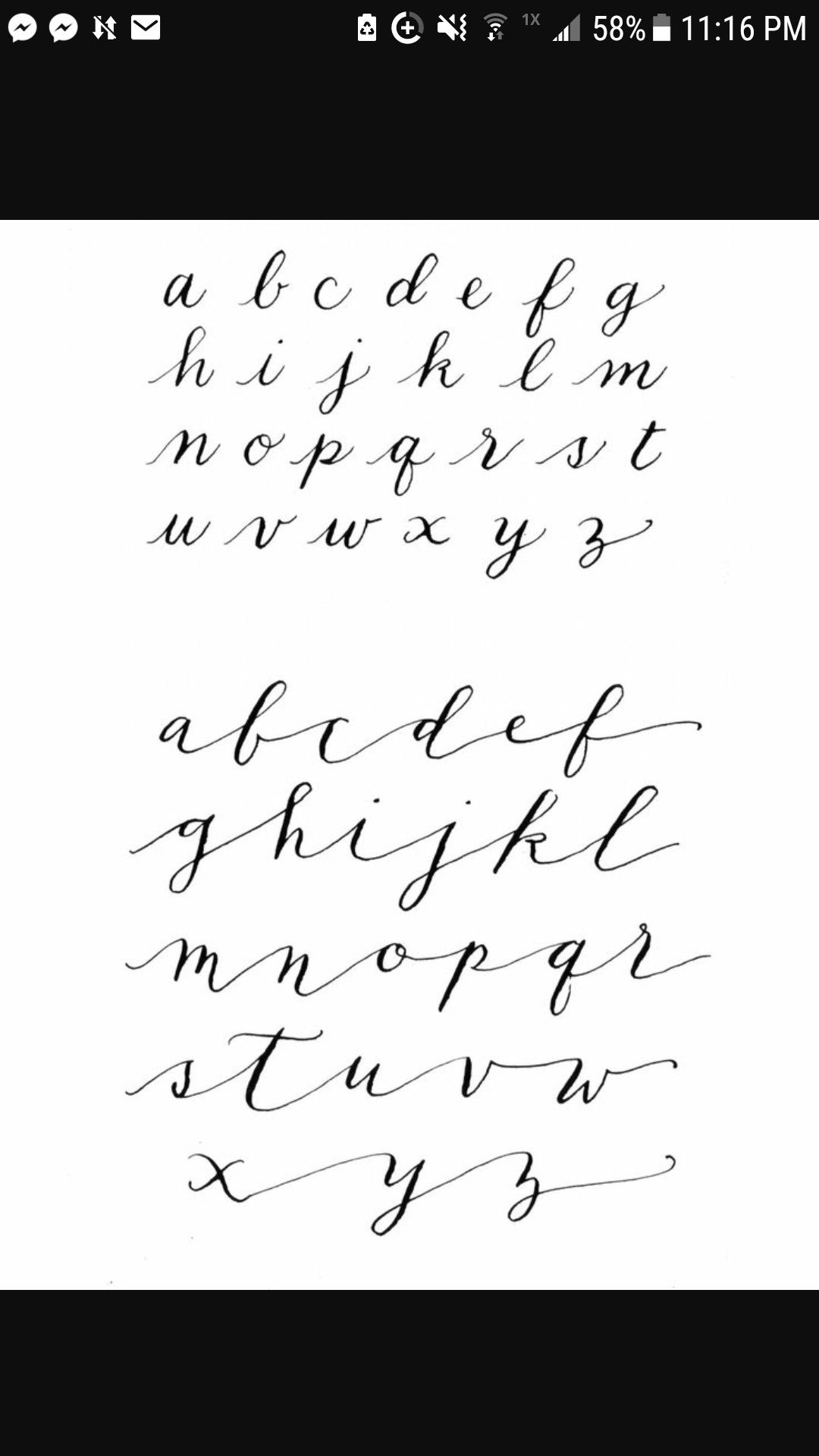 Discover Ideas About Nice Handwriting Contemporary Calligraphy Alphabets