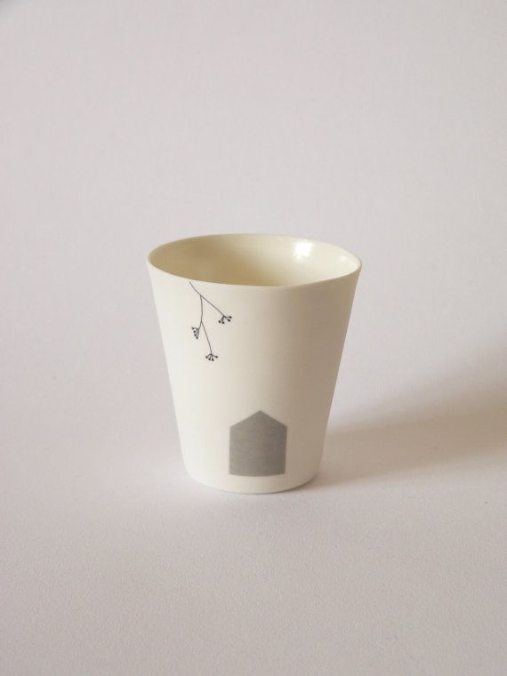 virginie gallezot - porcelain cup
