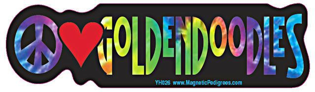 Tie dyed stickers calling for peace while proclaiming your love for your dog breed. - Perfect for cars, trucks, mailboxes...or anywhere - Made from durable vinyl - Printed with UV resitant ink - All w