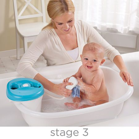 Summer Infant Newborn To Toddler Bath Center And Shower Neutral