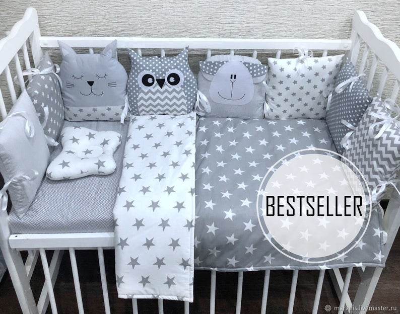 Cot Blanket Patterndiy Custom Baby Blanket Easy Quilt Etsy Baby Crib Bumpers Baby Cribs Baby Pillows