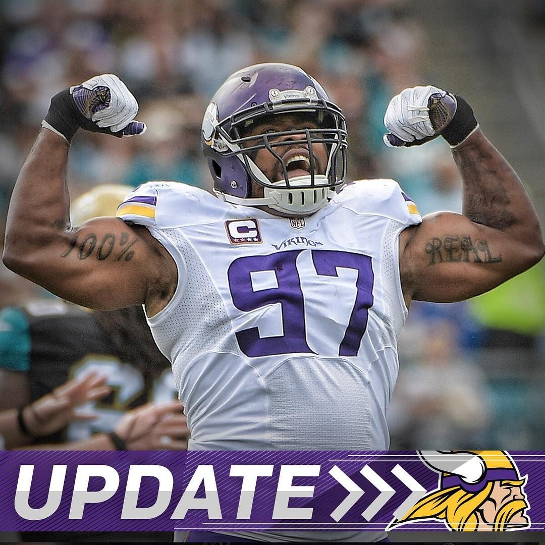 Vikings sign DE Everson Griffen to 4 year $58M extension $34M