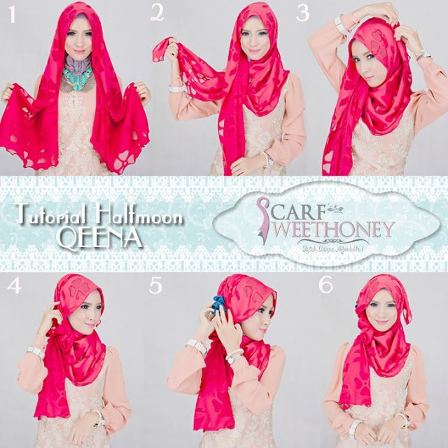 #sweethoney #tutorial #hijab #scarfHijab Tutorial ~ Scarf Sweethoney