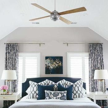 White And Navy Trellis Pillows Design Decor Photos Pictures