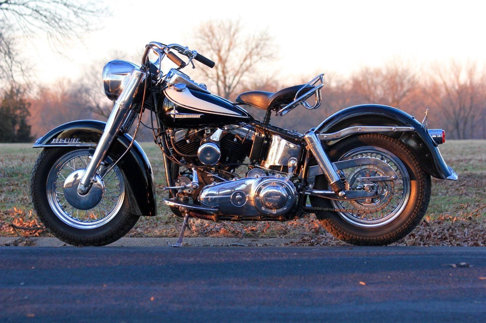 1962 Harley-Davidson FLH Panhead | Harley davidson, Harley davidson