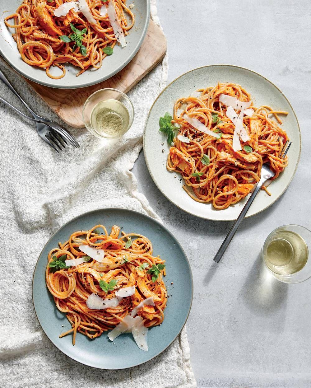 Familystyle chicken spaghetti recipe chicken