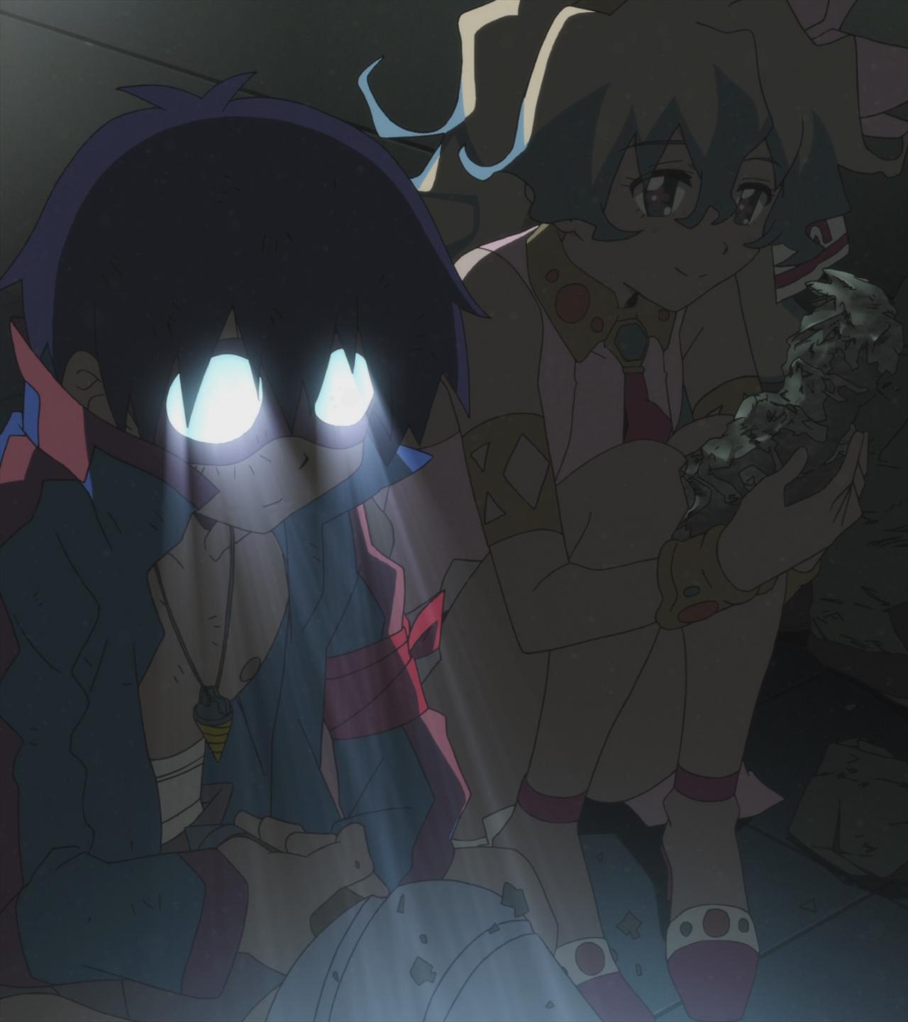 Simon S Obligatory Anime Glasses And Nia Anime Gurren Lagann Photo
