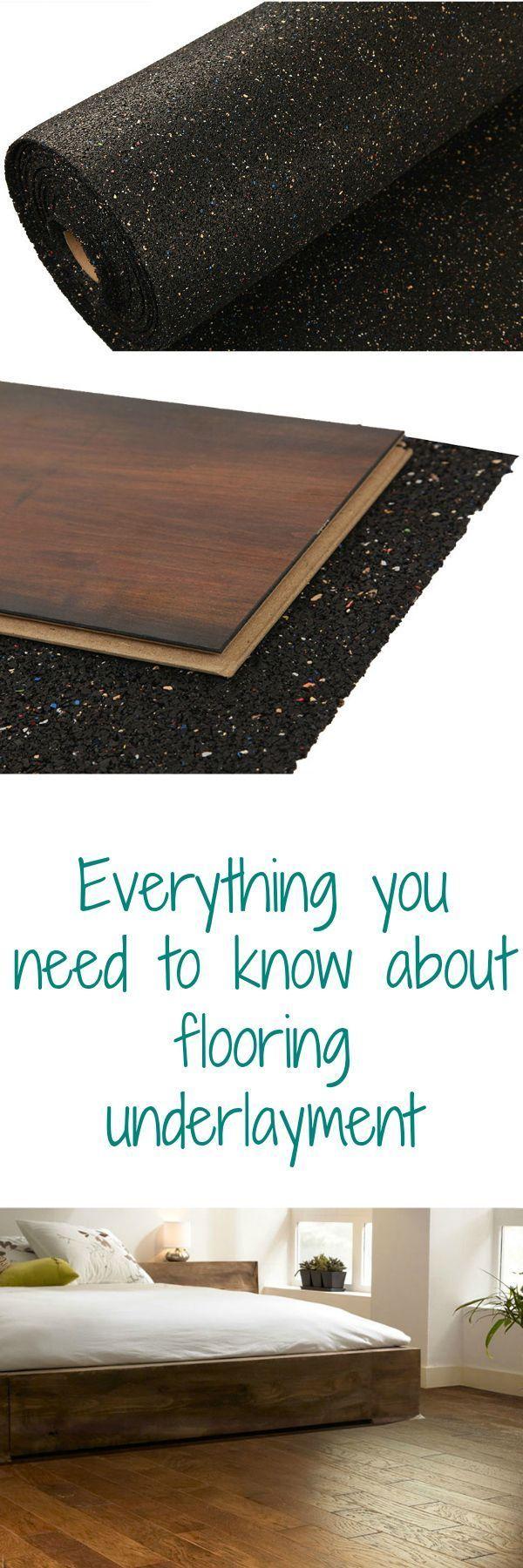 Understanding Underlayment Flooring underlayment