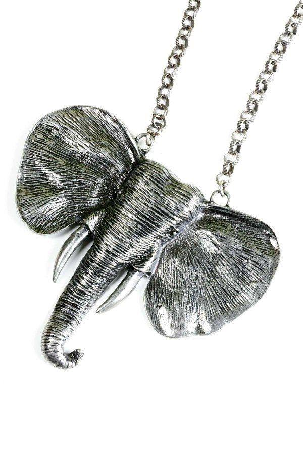 Elephant Necklace  J11