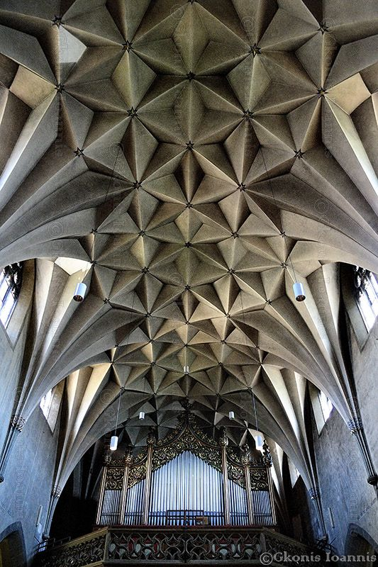 This Extraordinary And Exceptional Roof Is From A Church Quite Far Basels Center