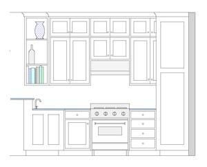 Seattle Custom Cabinets Talks About How To Design A Tall Kitchen Wall