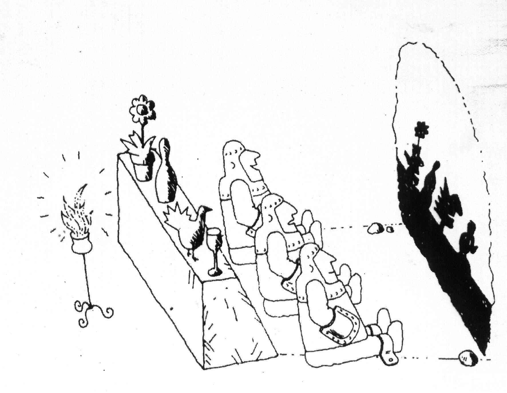 Platos Cave and Depression