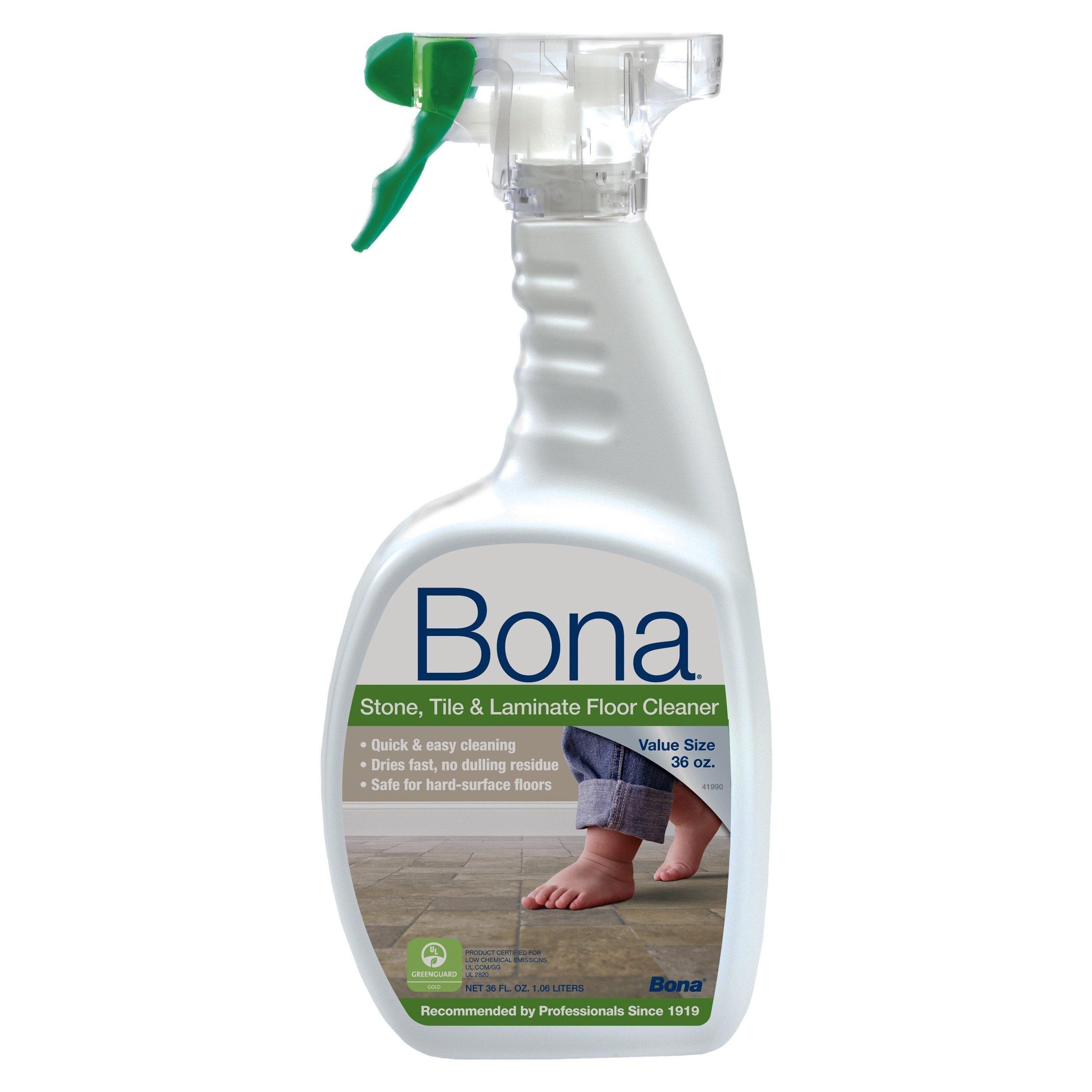 Bona Stone Tile and Laminate Floor Cleaner, 36 oz