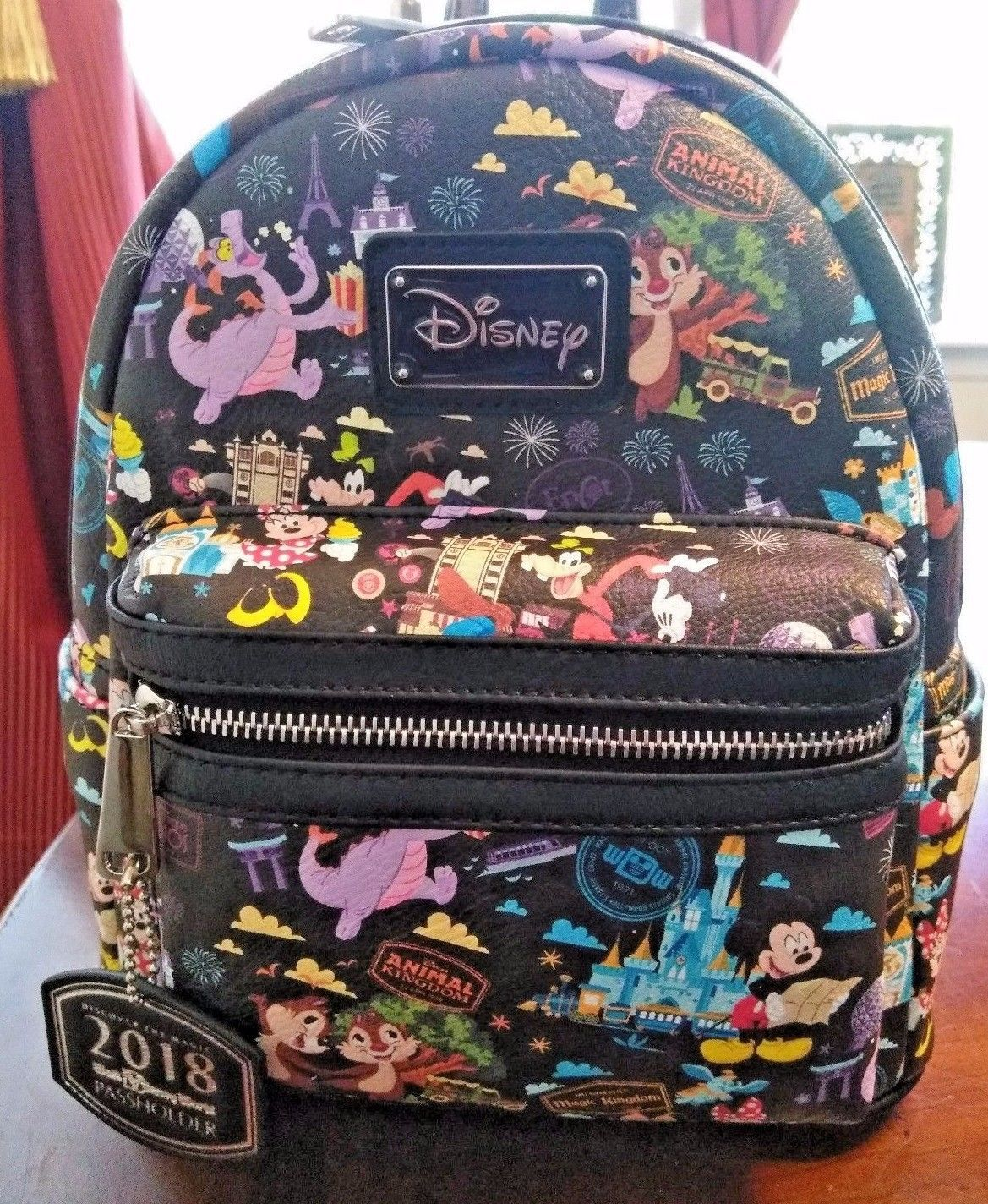 disney WDW Disney World Loungefly Annual Passholder Mini Backpack please  retweet 57848b1afe2