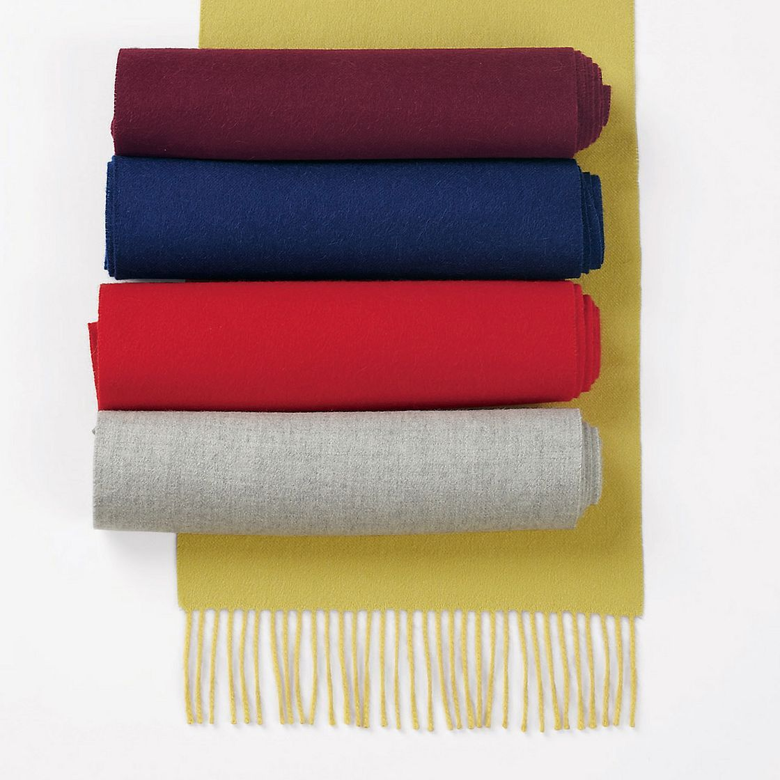Baby Alpaca Fringe Scarf - Wrap yourself in this sumptuously soft scarf and experience the luxury of rare and prized baby alpaca from the Peruvian Andes.