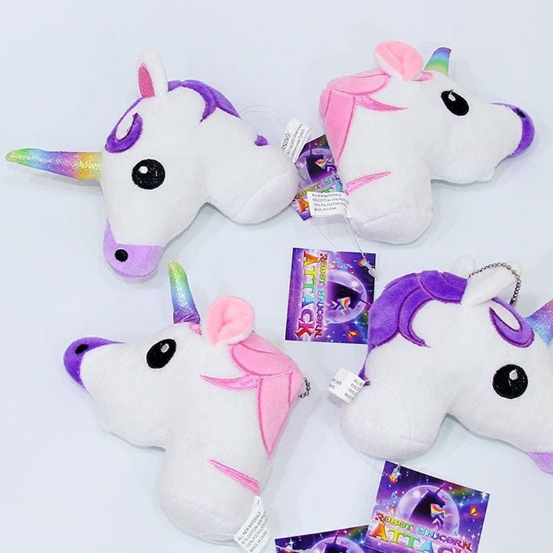 Chibi Rainbow Unicorn Plush