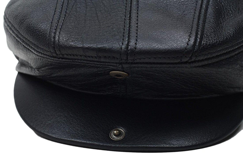 e51e24f4597242 Hats & Caps, Men's Hats & Caps, Newsboy Caps, Black Genuine Leather Gatsby  Flat Cap Ivy Newsboy Driver Hat Cabbie - CD12JSDOEDP #hats #caps #style ...